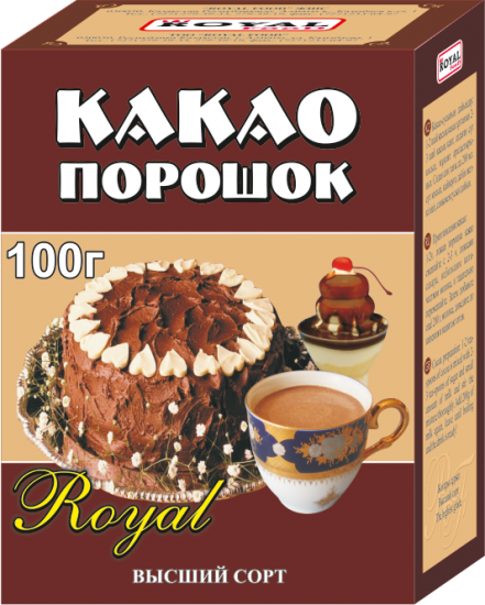 Какао-порошок «Royal Food»